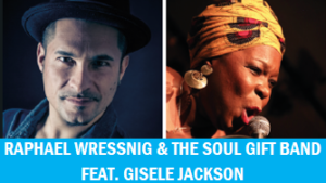 KuKiE - Mission in Blues - Raphael Wressnig & The Soul Gift Band feat. Gisele Jackson @ TV Ellerstadt